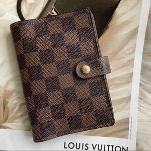 Louis Vuitton Damier Ebene Small Notebook Agenda